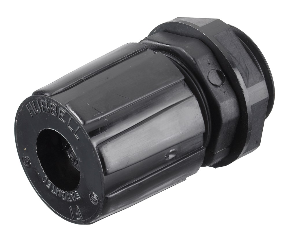 Hubbell HJ1001BPK25 Cord Connector