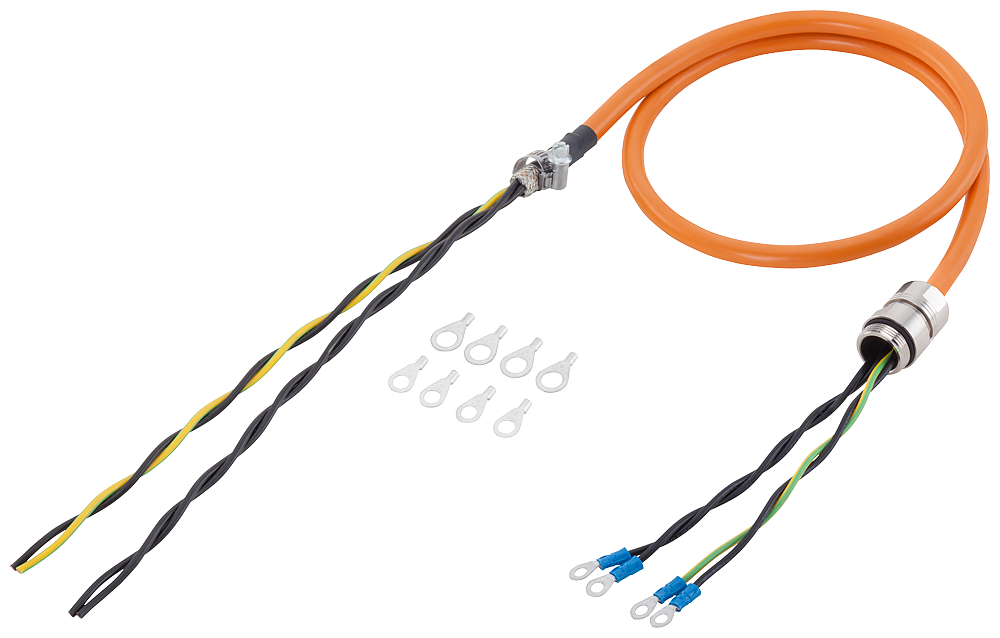 Siemens 6FX50025CR831BA0 MOTION-CONNECT 500 Basic Power Cable