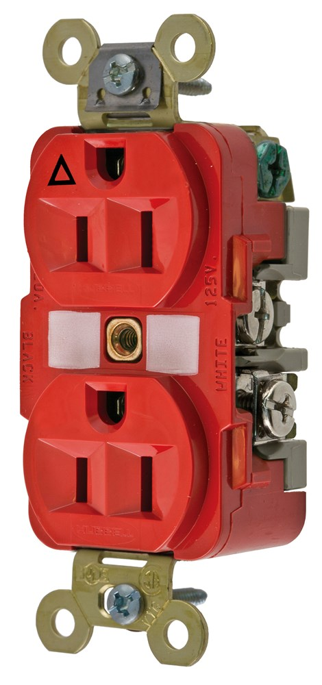 Hubbell IG5262R Straight Blade Receptacle
