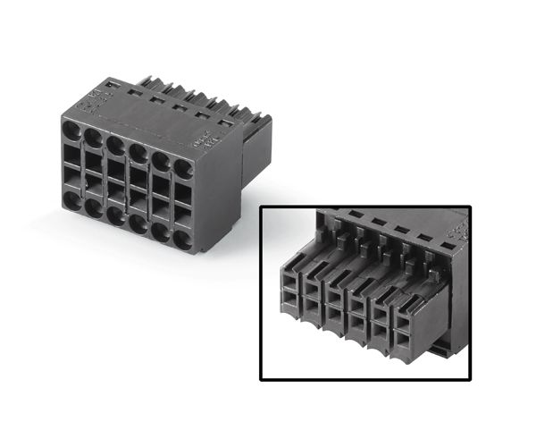 Siemens 6AV66713XY384AX0 Female Connector