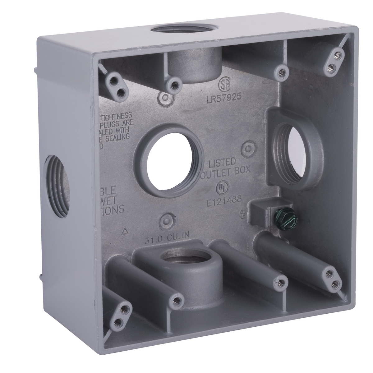 Hubbell-Raco 5342-0 BELL Weatherproof Outlet Box