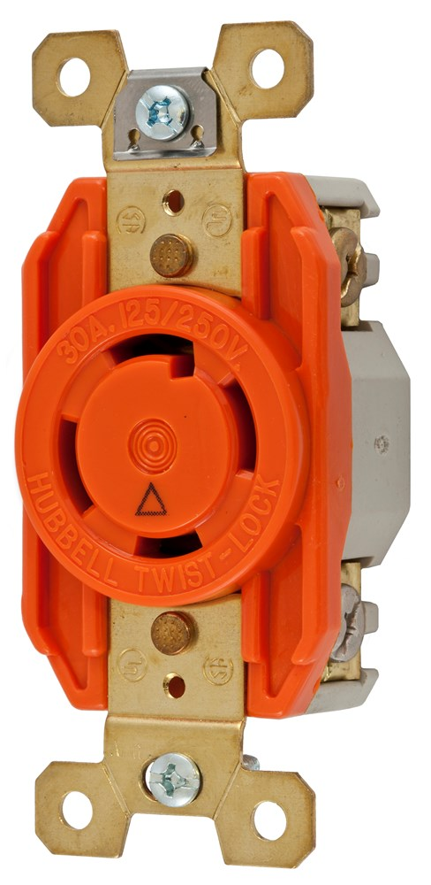 Hubbell IG2710 Locking Receptacle