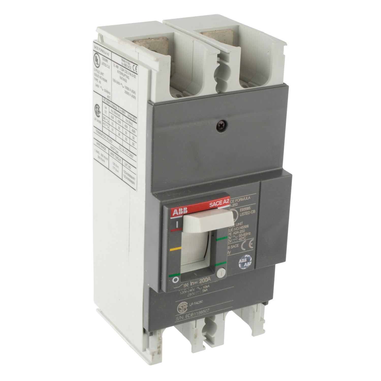 ABB A2A200TW-2 Molded Case Circuit Breaker