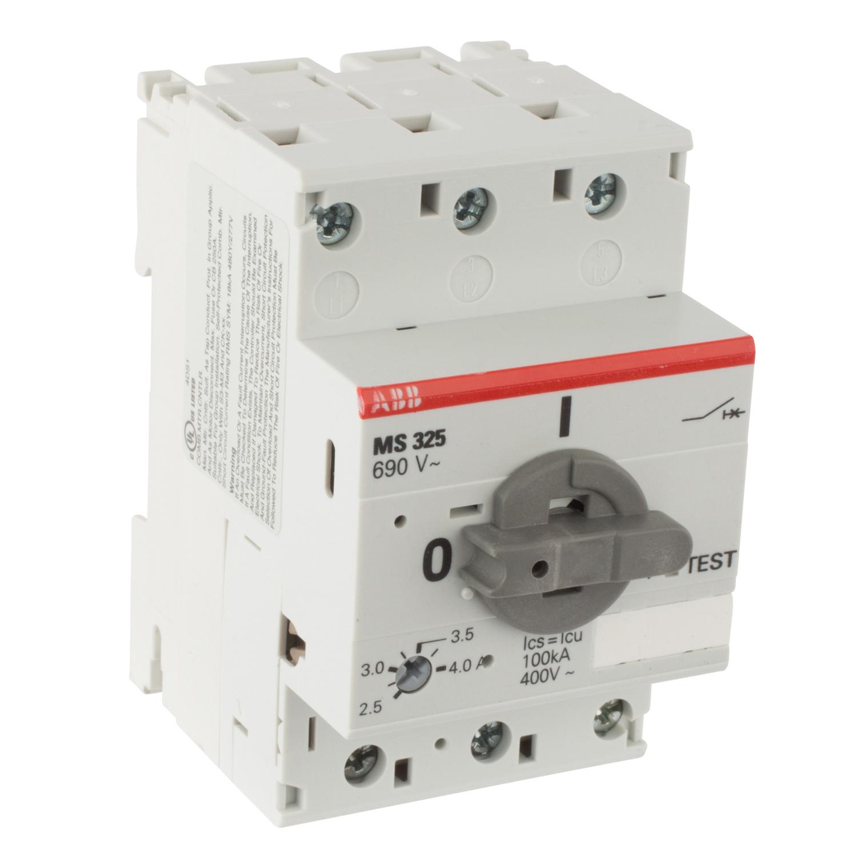 ABB MS325-4.0 Manual Motor Starter