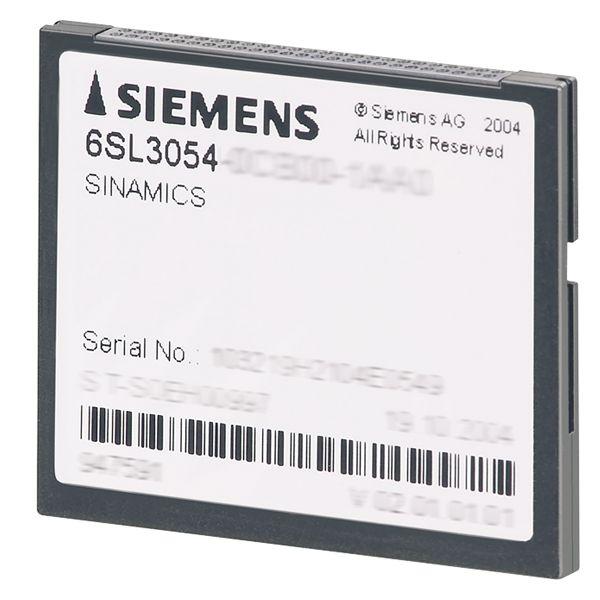 Siemens 6SL30540EH011BA0 Compact Flash Card