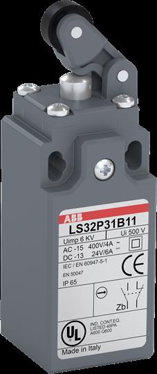 ABB LS31P31B11 Limit Switch