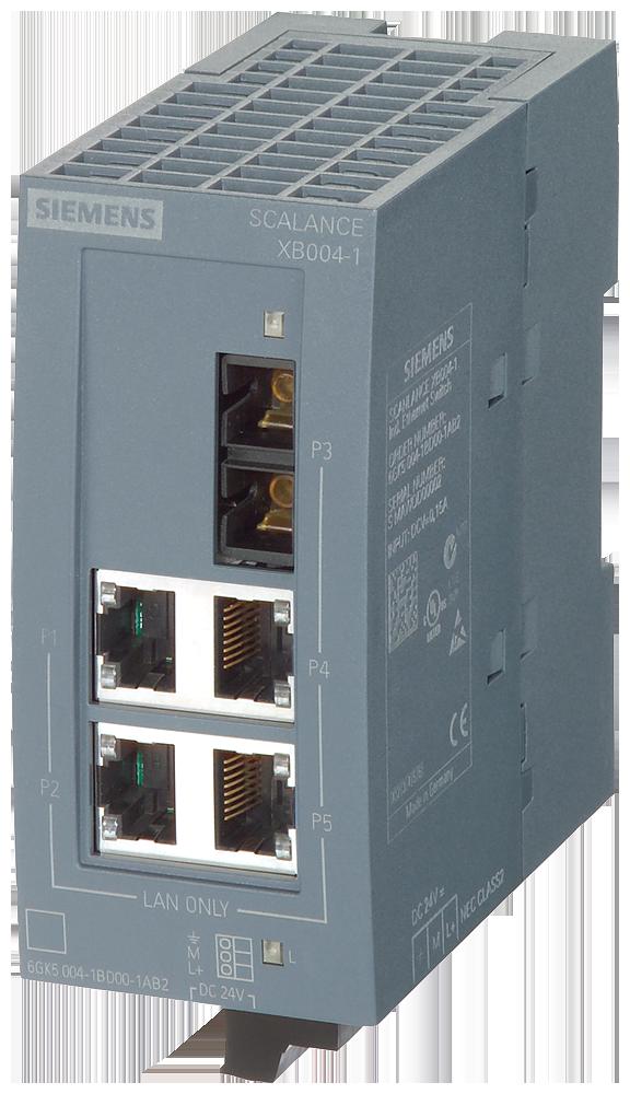 Siemens 6GK5004-1BD00-1AB2 Industrial Ethernet Switch