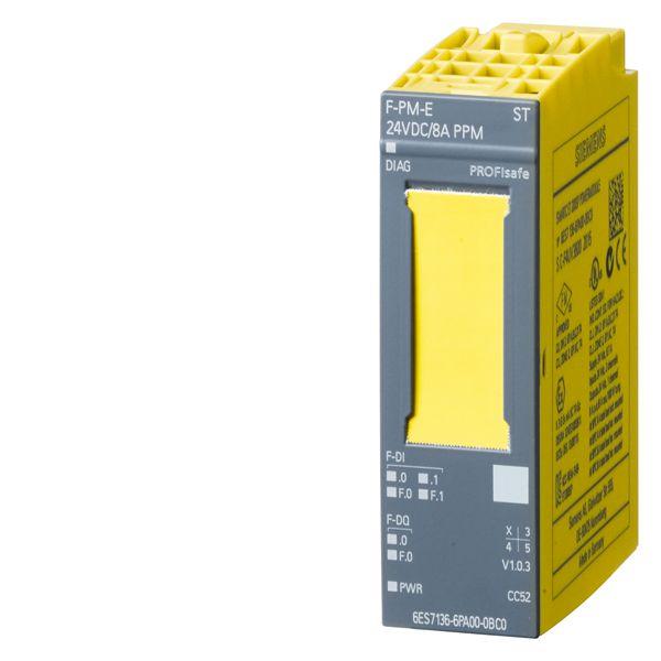 Siemens 6ES71366PA000BC0 Fail-Safe Digital Power Module