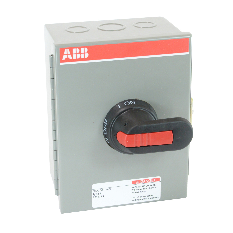 ABB EOT30U3M1-P Enclosed Disconnect Switch