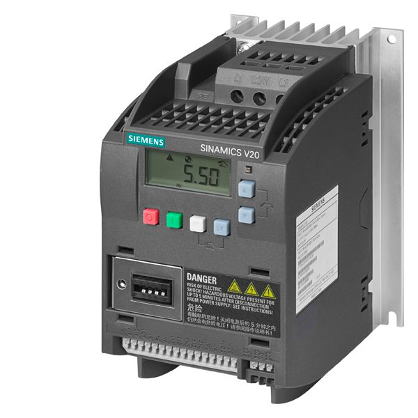 Siemens 6SL32105BE211UV0 Variable Frequency Drive