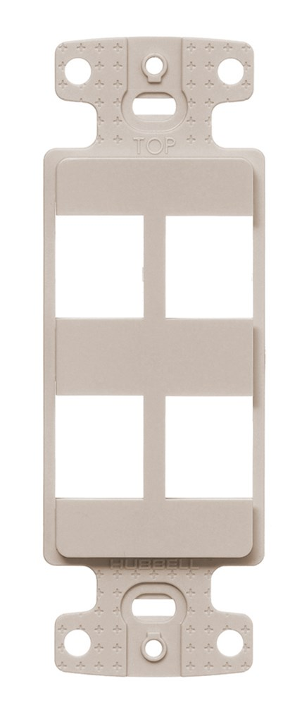 Hubbell NS614LA Decorator Frame