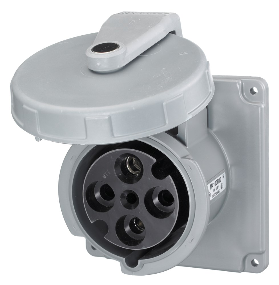 Hubbell M4100R12 Pin and Sleeve Receptacle