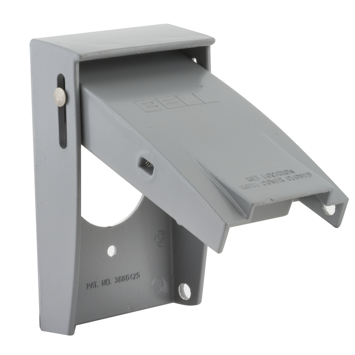 Hubbell-Raco 5026-0 BELL Rayntite Weatherproof Flip Cover