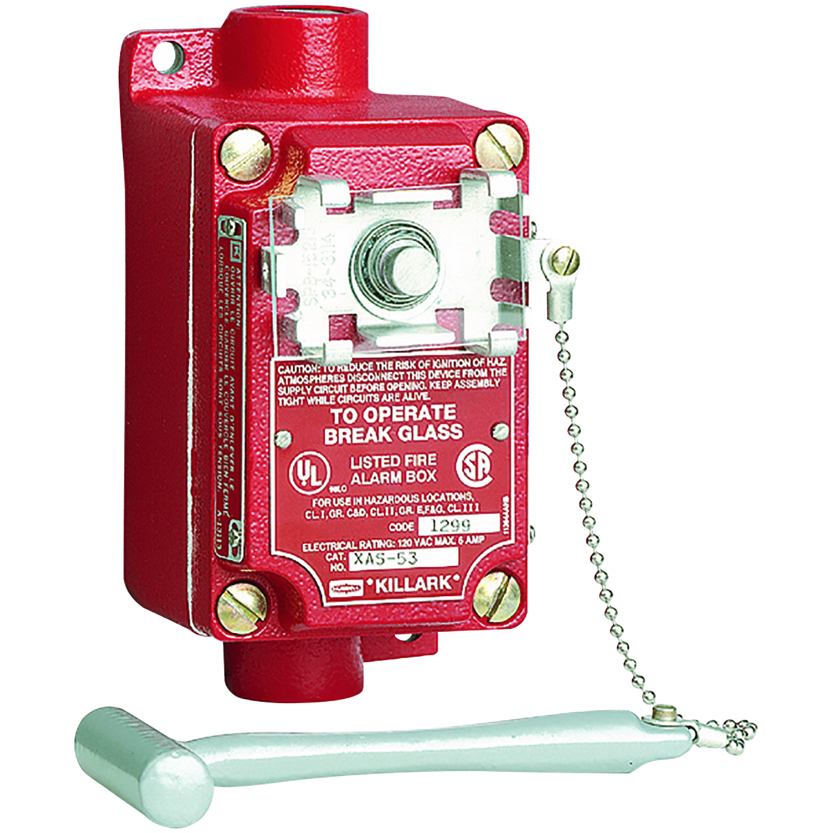 Hubbell XAS-53 Fire Alarm Station