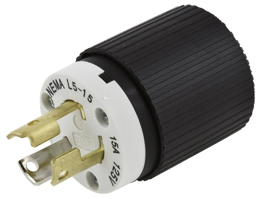 Hubbell L520P Locking Male Plug