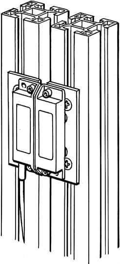 ABB 2TLA040033R1800 Door Fitting
