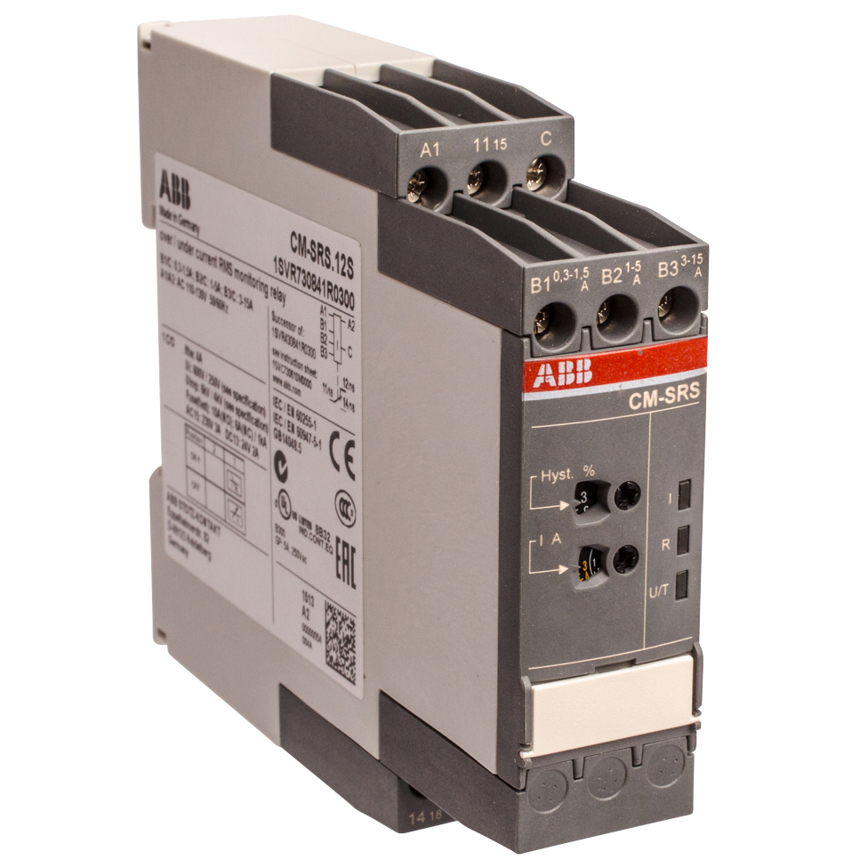 ABB 1SVR730841R0300 Current Monitoring Relay