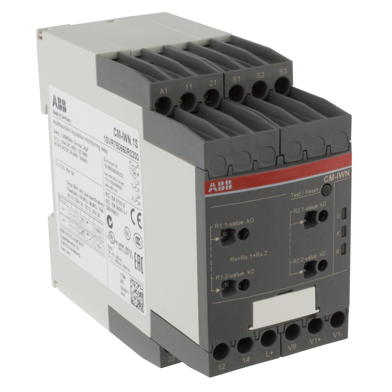 ABB 1SVR750660R0200 Insulation Monitoring Relay
