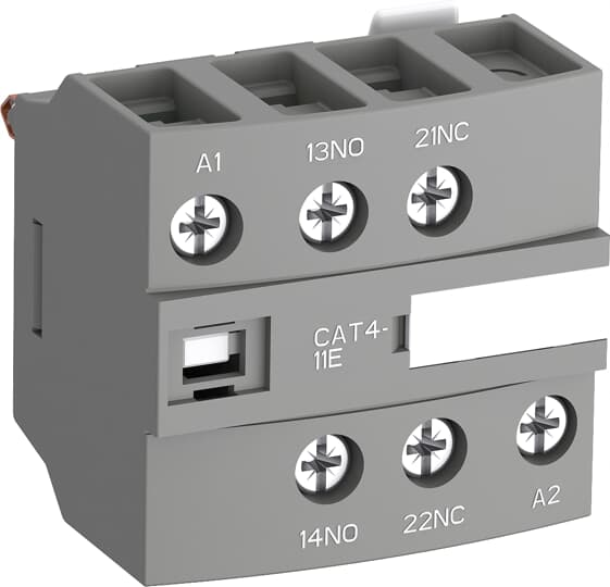 ABB CAT4-11E Auxiliary Contact/Coil Terminal Block