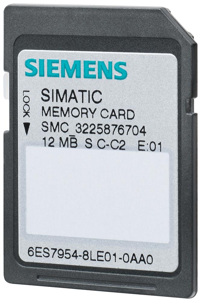 Siemens 6ES79548LE030AA0 Memory Card