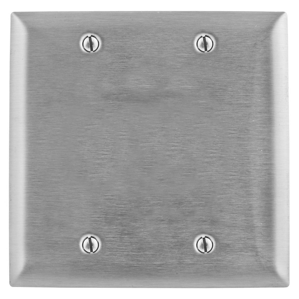 Hubbell SS23L Blank Wallplate