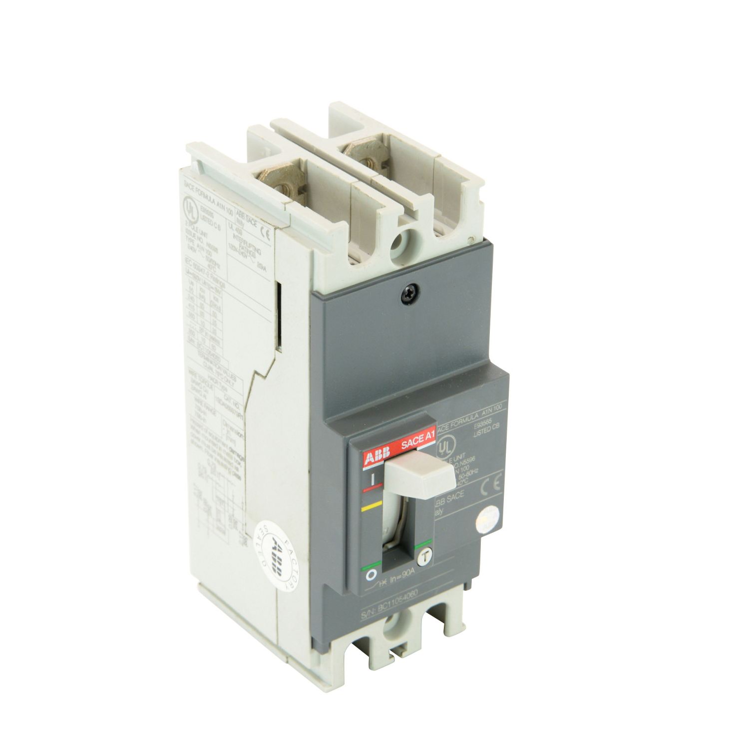 ABB A1N090TW-2 Molded Case Circuit Breakrs