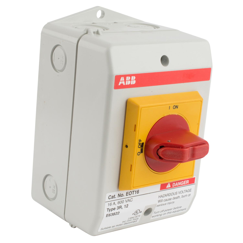 ABB EOT16U3P3-S1 Enclosed Disconnect Switch