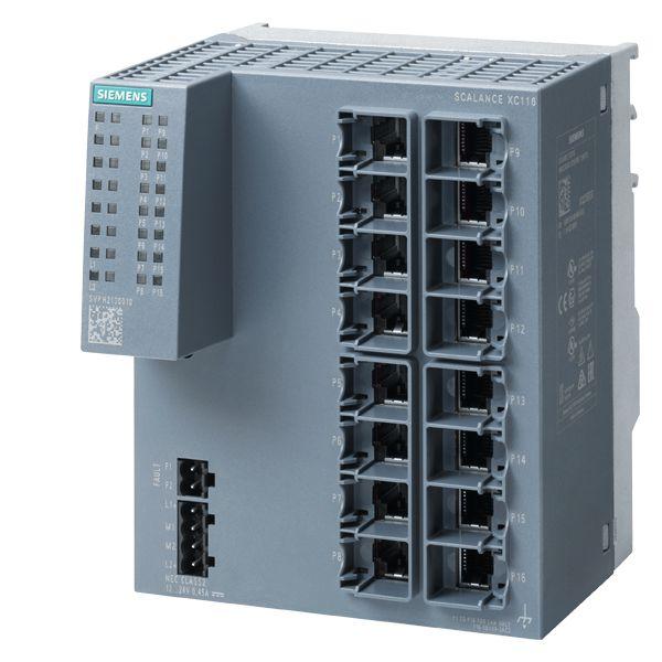 Siemens 6GK51160BA002AC2 Industrial Ethernet Switch