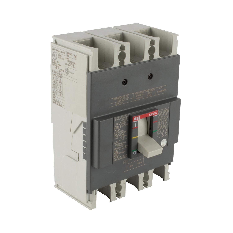 ABB A2A200TW FORMULA Molded Case Circuit Breaker