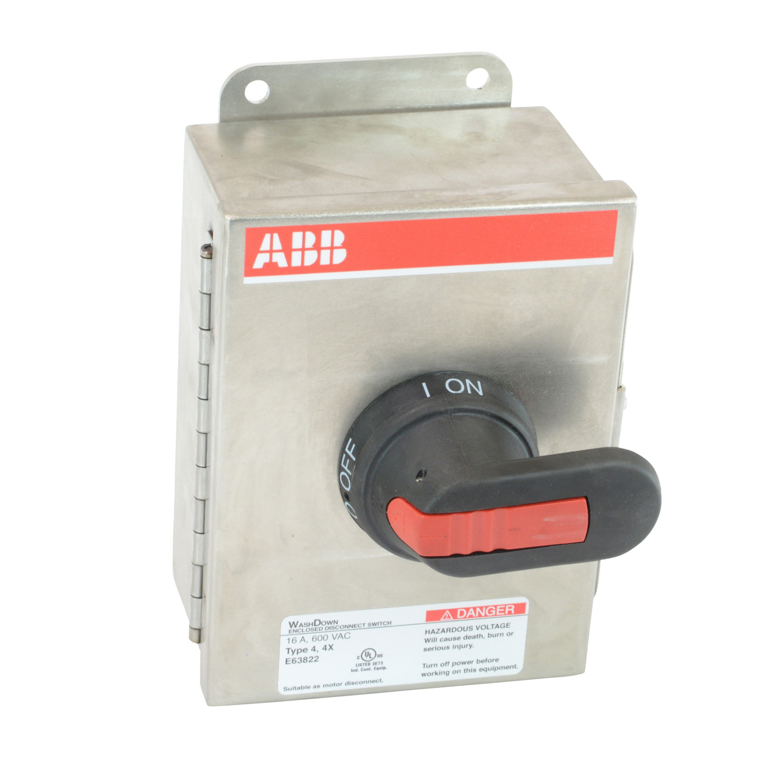 ABB EOT16U3S4-P Enclosed Disconnect Switch