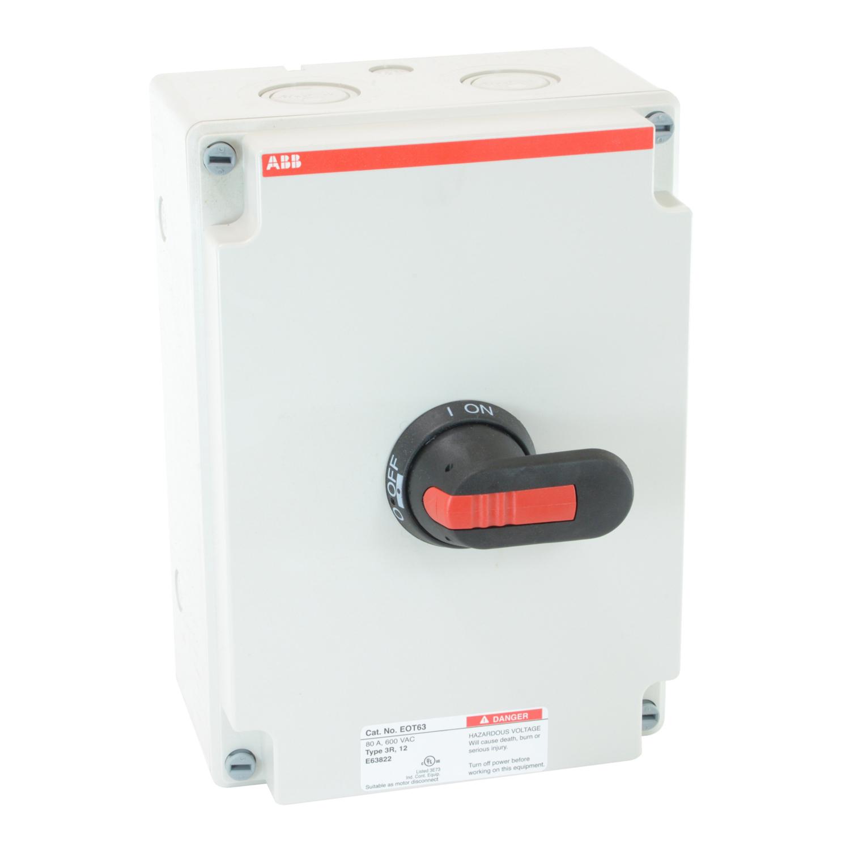 ABB EOT63U3P3-P Enclosed Disconnect Switch