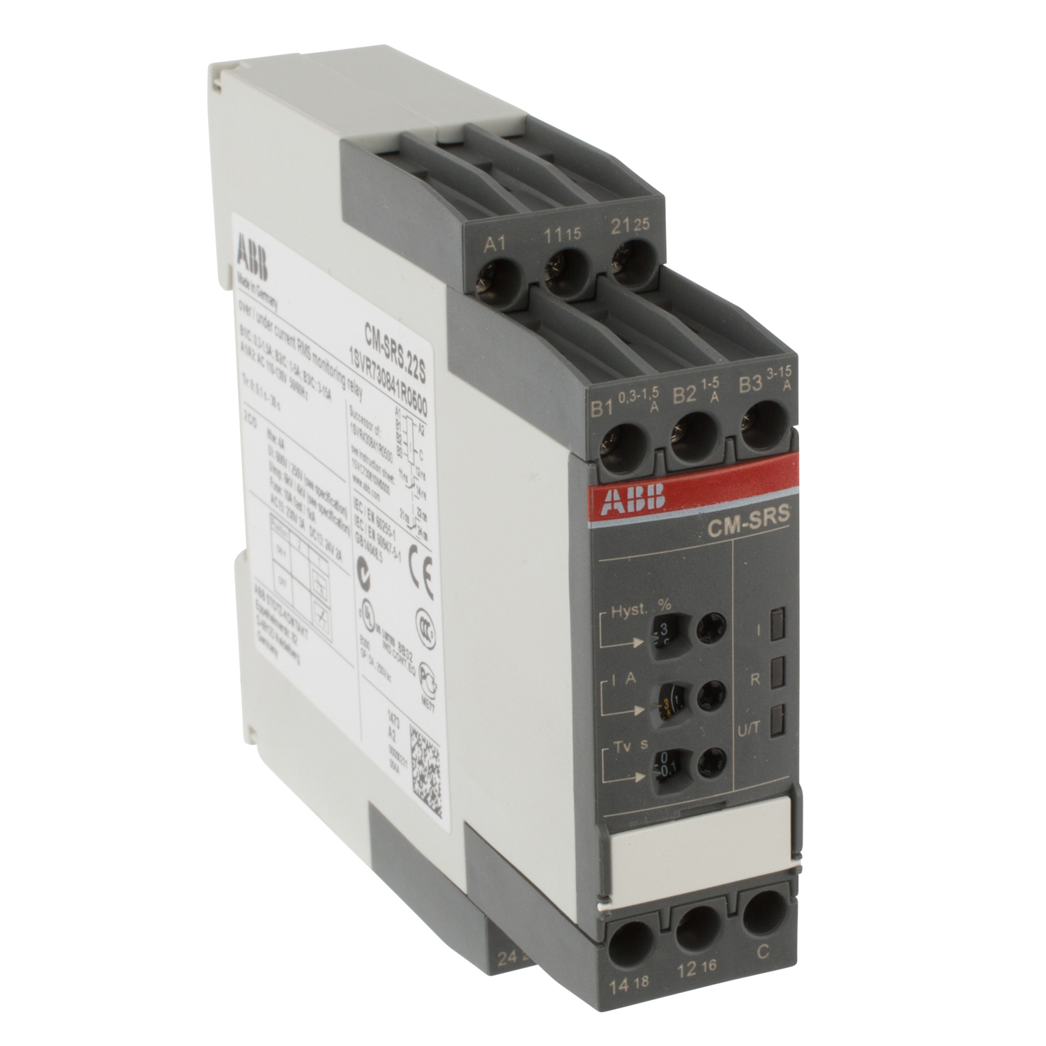 ABB 1SVR730841R0500 Current Monitoring Relay