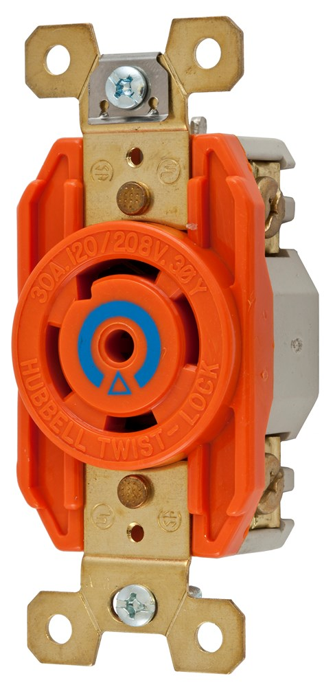 Hubbell IG2810 Locking Receptacle