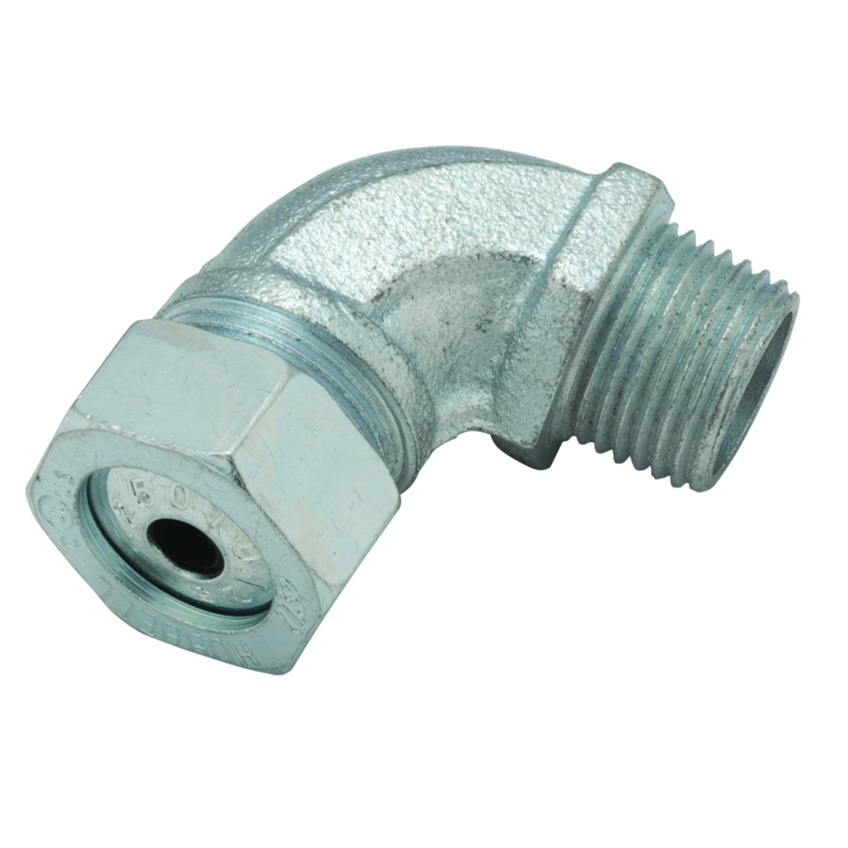 Hubbell-Raco 3793-4 Angled Cord Connector