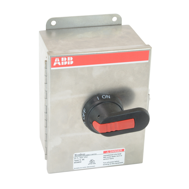 ABB EOT63U3S4-P Enclosed Disconnect Switch