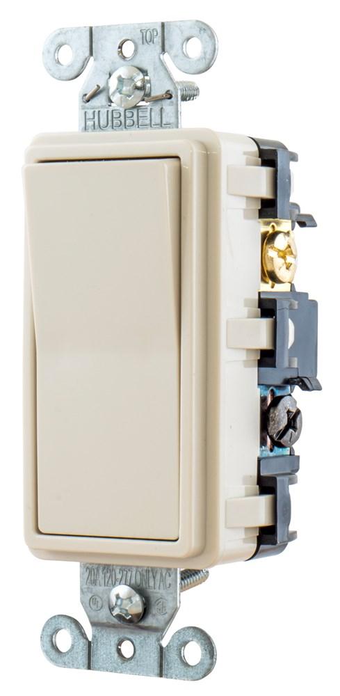 Hubbell RSD415LA Decorator Switch