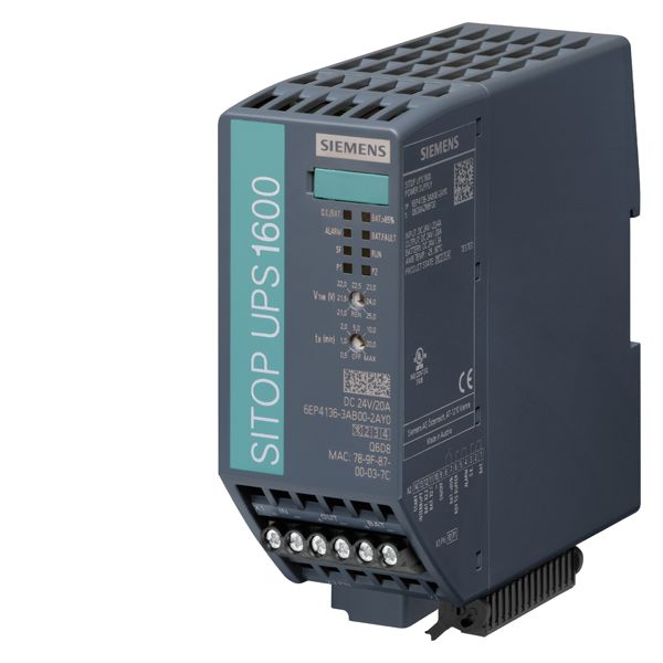 Siemens 6EP41363AB002AY0 UPS Module