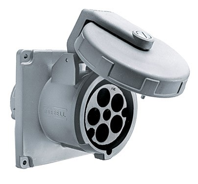 Hubbell M5100R7 Pin and Sleeve Receptacle