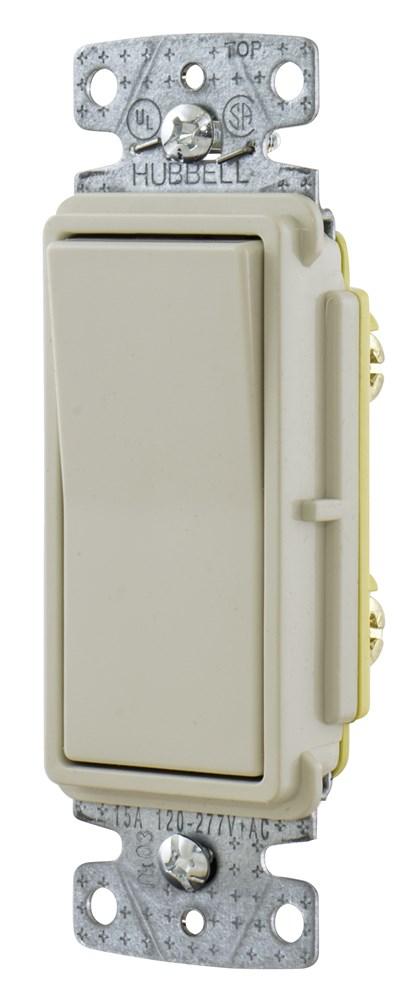 Hubbell RSD115LA Rocker Switch