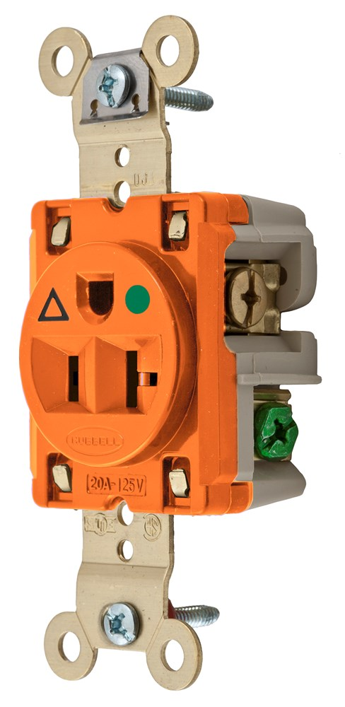 Hubbell IG8310 Straight Blade Receptacle