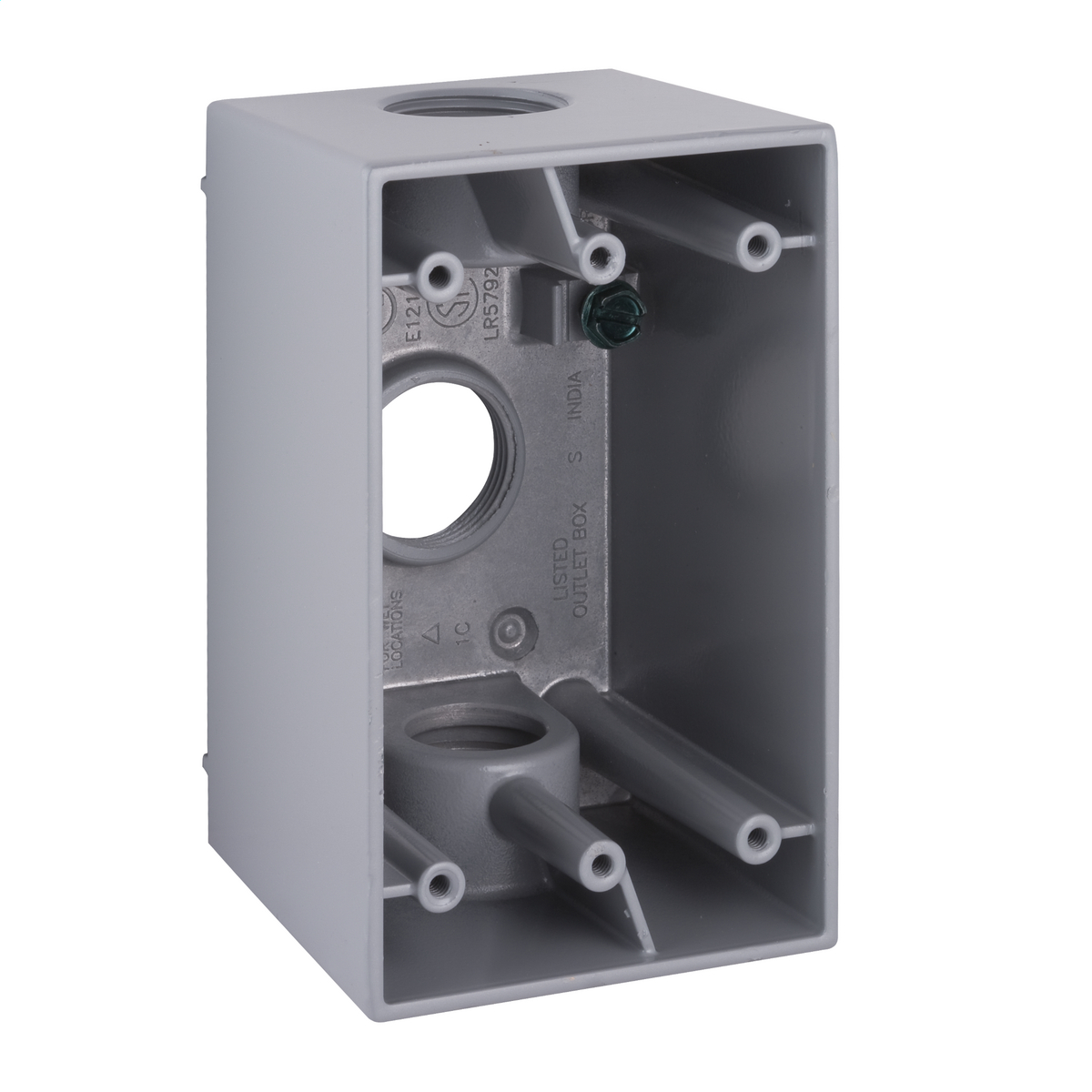 Hubbell-Raco 5386-0 BELL Weatherproof Outlet Box