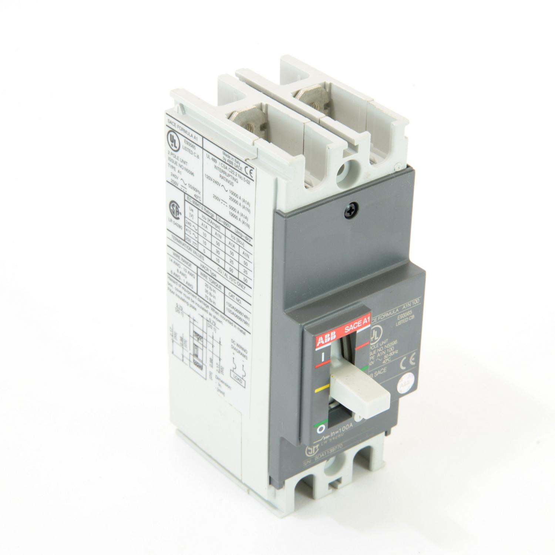 ABB A1N100TW-2 FORMULA Molded Case Circuit Breaker