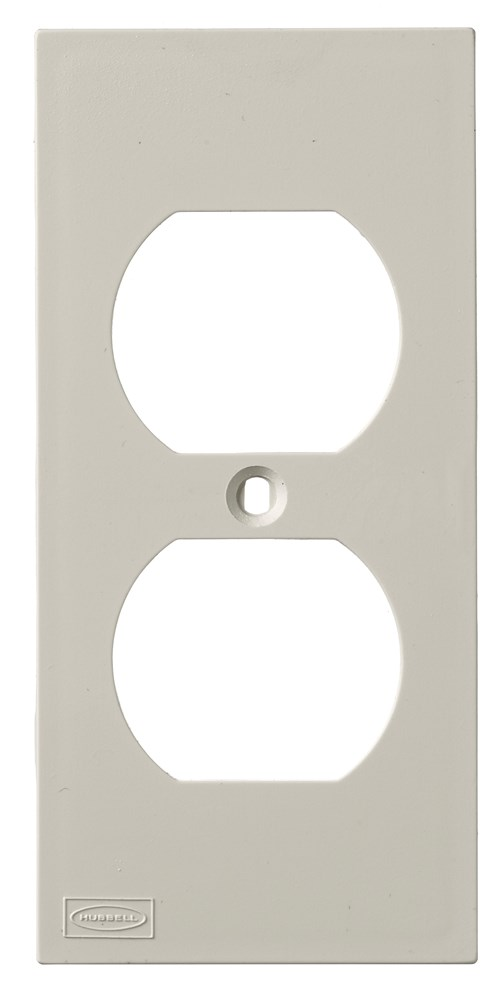 Hubbell KP8 Faceplate