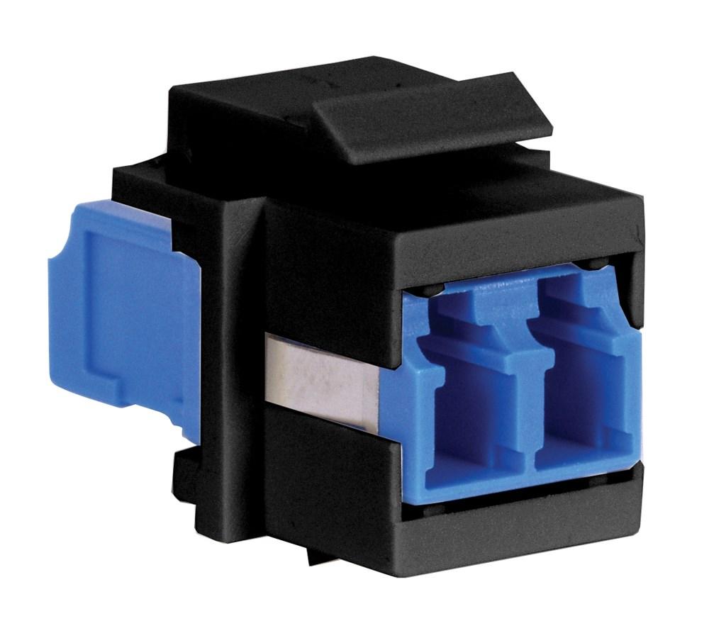Hubbell SFFLCSBKG Fiber Optic Adapter