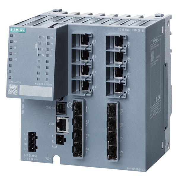 Siemens 6GK54088GS002AM2 Industrial Ethernet Switch