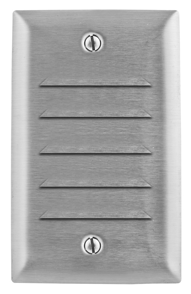 Hubbell SS771 Louver Wallplate