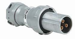 Hubbell VP10487 VERSAMATE Pin and Sleeve Plug