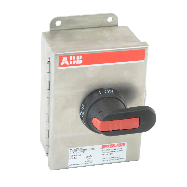 ABB EOT32U3S4-P Enclosed Disconnect Switch