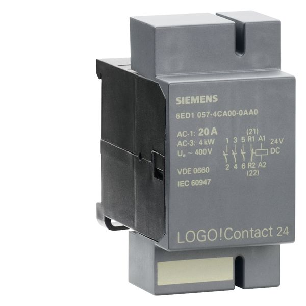 Siemens 6ED10574CA000AA0 LOGO! Switching Module