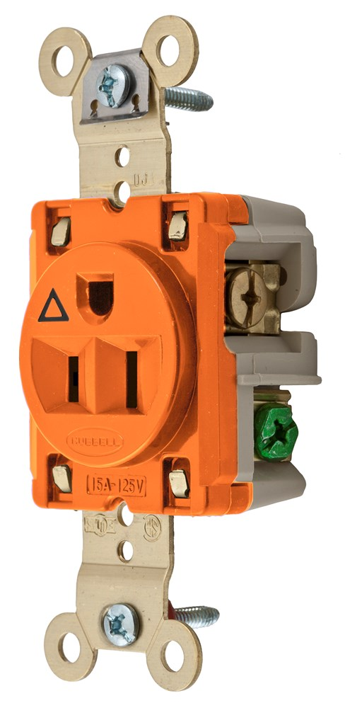 Hubbell IG5261 Straight Blade Receptacle